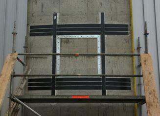 Betonsanierung / Verstärkung Gebäudeteil / Wand/Sturzverstärkung