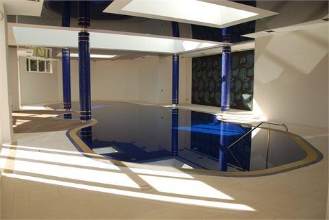 Projekt Schwimmbadbau / Projektabschluss