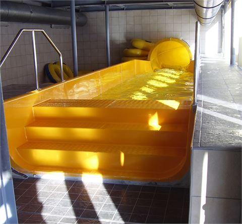 Öffentliche Schwimmbäder / Abdichtung / Innenbecken / Rutsche