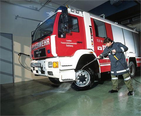 Feuerwehr / Waschanlage