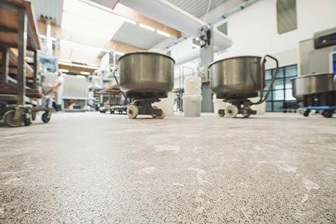 Lebensmittelböden - Bäckerei  Konditorei - Confiserie