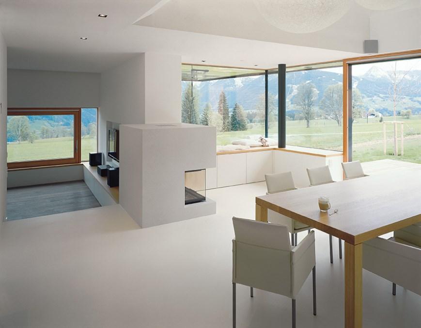 Designboden im Küchen- und Wohnbereich