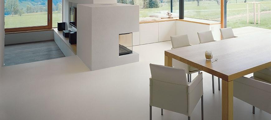 Designboden Privater Wohnbereich