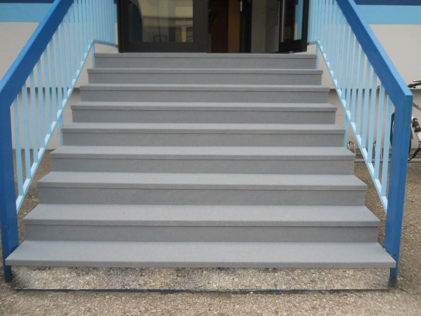 Treppensanierung: nachher