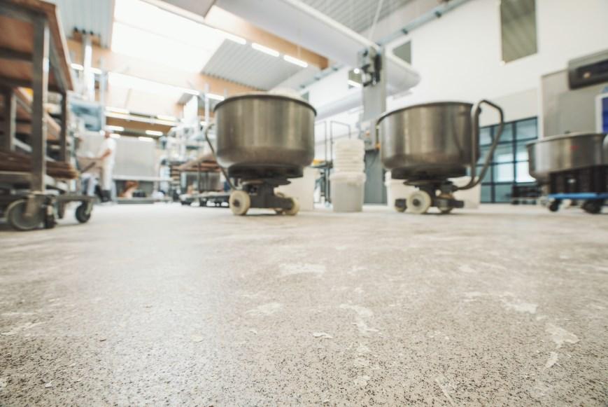 LebensmittelTERRAZZO in der Bäckerei