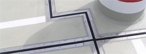Bauteilfugen und Schwerlastprofile